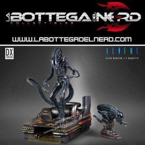 Aliens - Statua 1/3 legendary sculpture Alien Warrior Deluxe 74cm