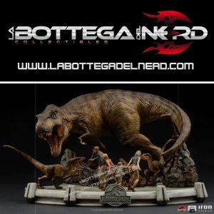 Jurassic Park - Demi Art Scale Statua 1/20 The Final Scene 48cm
