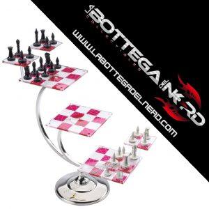 Star Trek - Chess Set Scacchiera 3D Star Trek Classic series