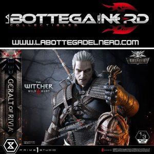 Witcher 3 Wild Hunt - Statua 1/3 Geralt of Riva Deluxe Version 88cm