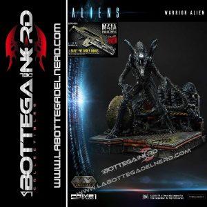 alien warrior Xenomorfo