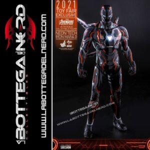 Avengers: Infinity War - Iron Man Neon Tech 4.0 2021 Toy Fair 32cm