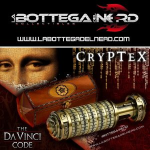 THE DA VINCI CODE - Prop Replica ufficiale 1/1 Cryptex