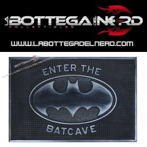 "ZERBINO INGRESSO - Batman ""Benvenuto nella Batcaverna"" 40x60"