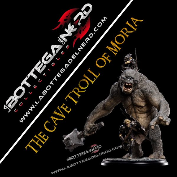 weta Troll of Moria The Lord of the Rings