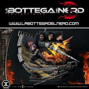 Alita: Battle Angel - Statua 1/4 Bonus Alita Berserker Motorball Tryout 64cm