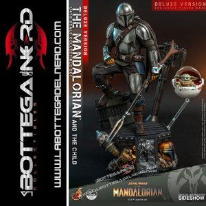 Star Wars The Mandalorian - 2-Pack 1/4 Mandalorian & Child Deluxe 46cm