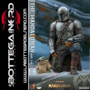 Star Wars The Mandalorian - 2-Pack 1/4 Mandalorian & The Child 46cm