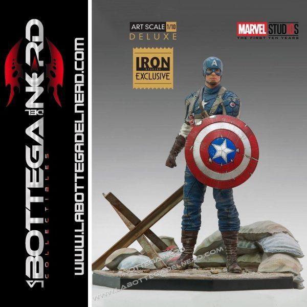 Marvel - Statua 1/10 Captain America 10 Years Event EX 21cm
