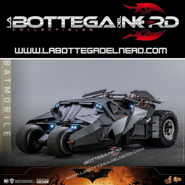 Batman The Dark Knight Rises - Movie Masterpiece 1/6 Batmobile 73cm