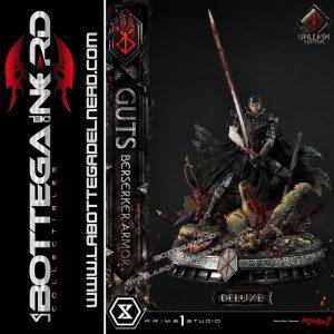 Berserk - Statua 1/4 Guts Berserker Armor Unleash Edition Deluxe 91cm