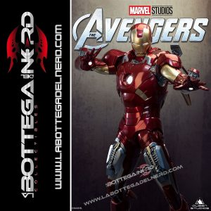 Marvel - Statua Queen Studios 1:2 Iron Man Mark 7 116cm