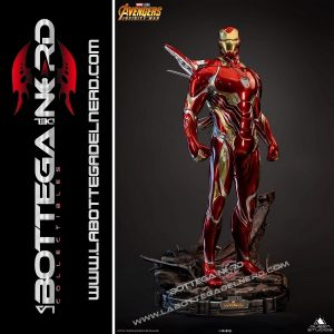 Marvel - Statua Queen Studios 1:2 Iron Man Mark 50 116cm