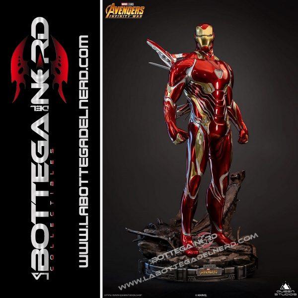 Marvel - Statua Queen Studios 1:2 Iron Man Mark 50 116cm