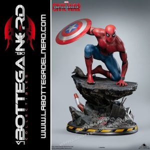 Marvel - Statua Queen Studios Spider-Man Civil-War Regular 40cm