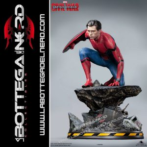 Marvel - Statua Queen Studios Spider-Man Civil-War Premium 40cm