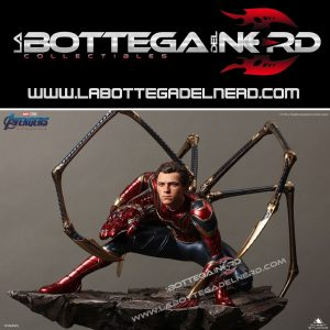 Marvel - Statua Queen Studios Iron Spider-Man Deluxe 51cm