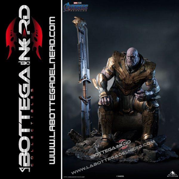 Marvel - Avengers: Endgame Statua Queen Studios Thanos Regular 72cm