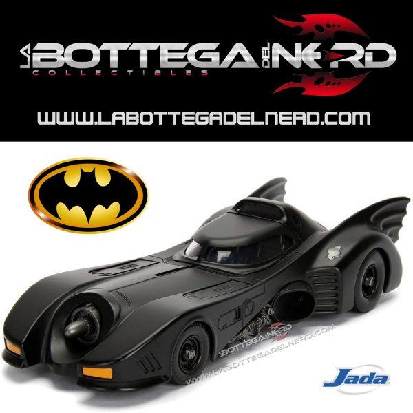 DC COMICS - Automodello Batman 1989 Batmobile 1:24