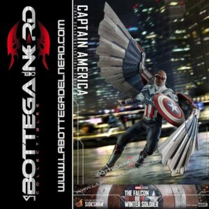 The Falcon and The Winter Soldier - Action Figure 1/6 Captain America 30cm