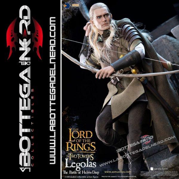 Il Signore degli Anelli - Action Figure 1/6 Legolas at Helm's Deep 30cm