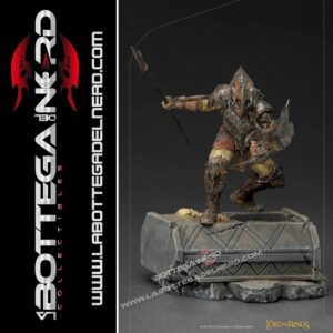Lord Of The Rings - BDS Art Scale Statue 1/10 Armored Orc 20cm