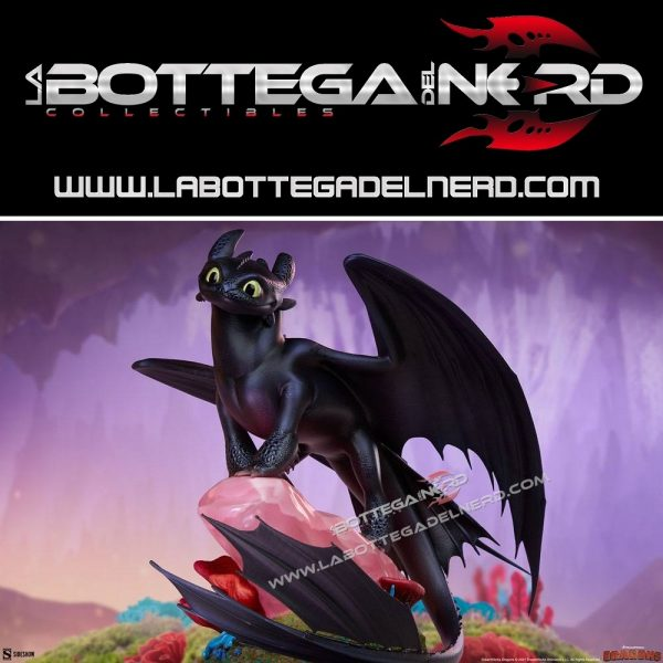 Dragon Trainer: How To Train Your Dragon - Statue Toothless 31cm