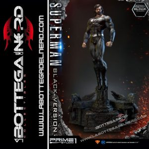 Batman Hush - Statua 1/3 Superman Black Version 106cm