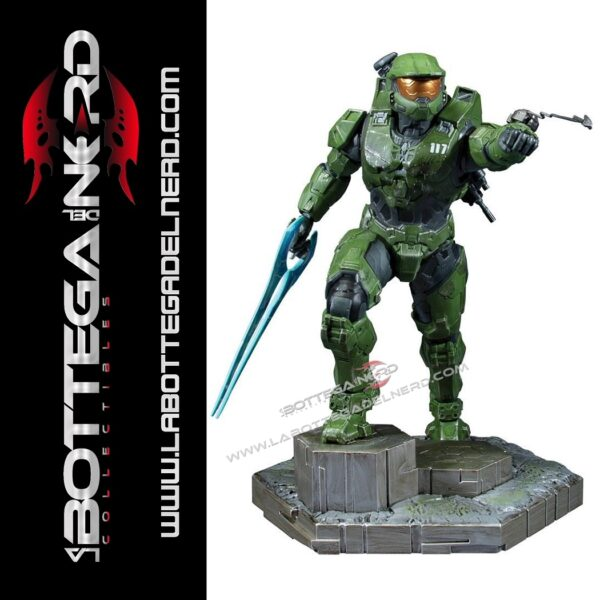 Halo Infinite - PVC Statue Master Chief & Grappleshot 26cm