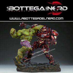 Marvel - Statue Maquette Hulk vs Hulkbuster 50cm