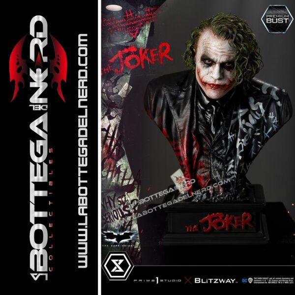 The Dark Knight - Premium Bust 1:3 The Joker 26cm
