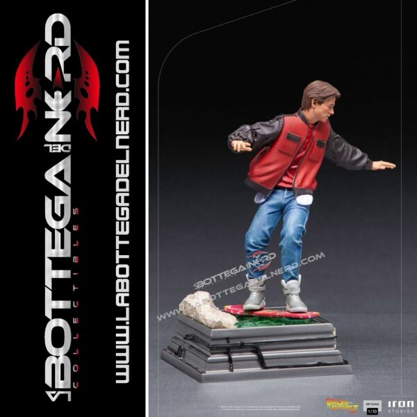 Back to the Future II - Statue 1/10 Marty McFly on Hoverboard 22cm