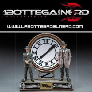 Back to the Future III - Deluxe Statue Marty and Doc at the Clock 30cm