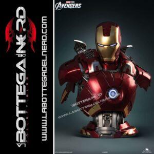 Marvel - Busto 1:1 Queen Studios Iron Man Mark 7