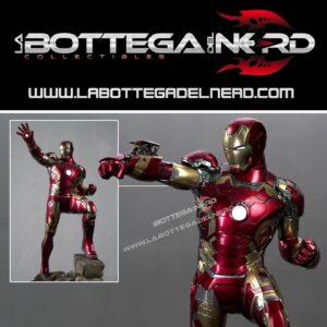 Marvel - Statua Queen Studios 1:4 Iron Man Mark 43 75cm