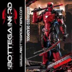 Marvel Comic - Action Figure 1/6 Armorized Deadpool 33cm