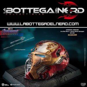 Avengers Endgame - Iron Man Mark50 Helmet Battle Damaged 22cm