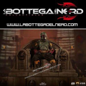 Star Wars The Mandalorian - Deluxe 1/10 Boba Fett on Throne