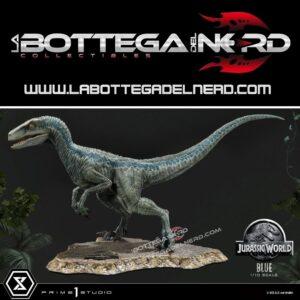 Jurassic World: Fallen Kingdom - Statue 1/10 Blue (Open Mouth) 36cm