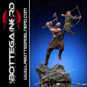 God of War - BDS Art Scale Statue 1/10 Kratos & Atreus 34cm