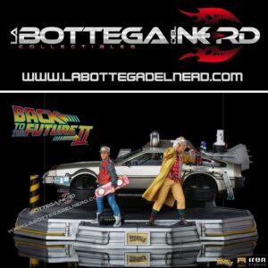 Back to the Future II - Art Scale Statue 1/10 DeLorean Deluxe 58cm