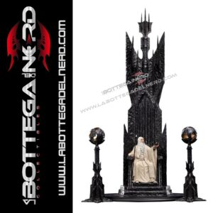 The Lord of the Rings - Statue 1/6 Saruman the White on Throne 110cm